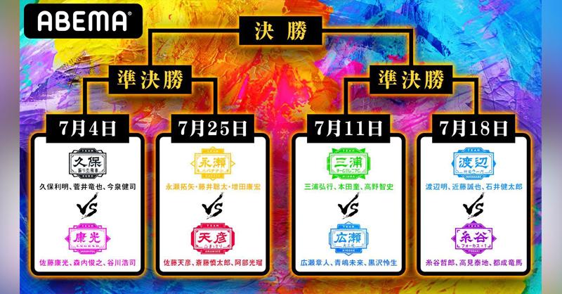 1EHjibj7 - 【実況】第3回AbemaTVトーナメント本戦「チーム久保」vs「チーム佐藤康光」